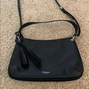 Coach crossbody leather bag